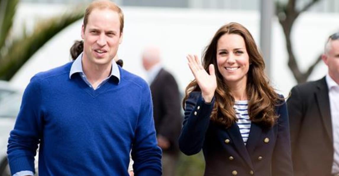 Guillermo de Inglaterra y Kate MIddelton