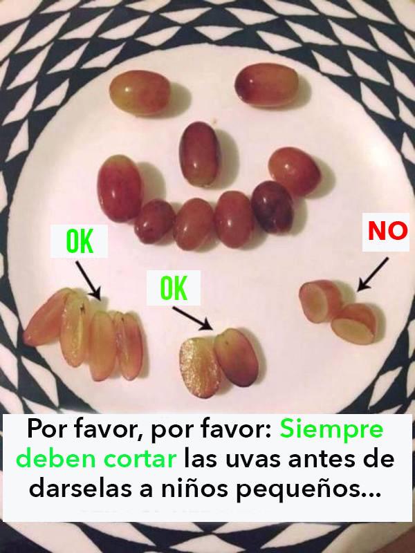 advertencia de uvas