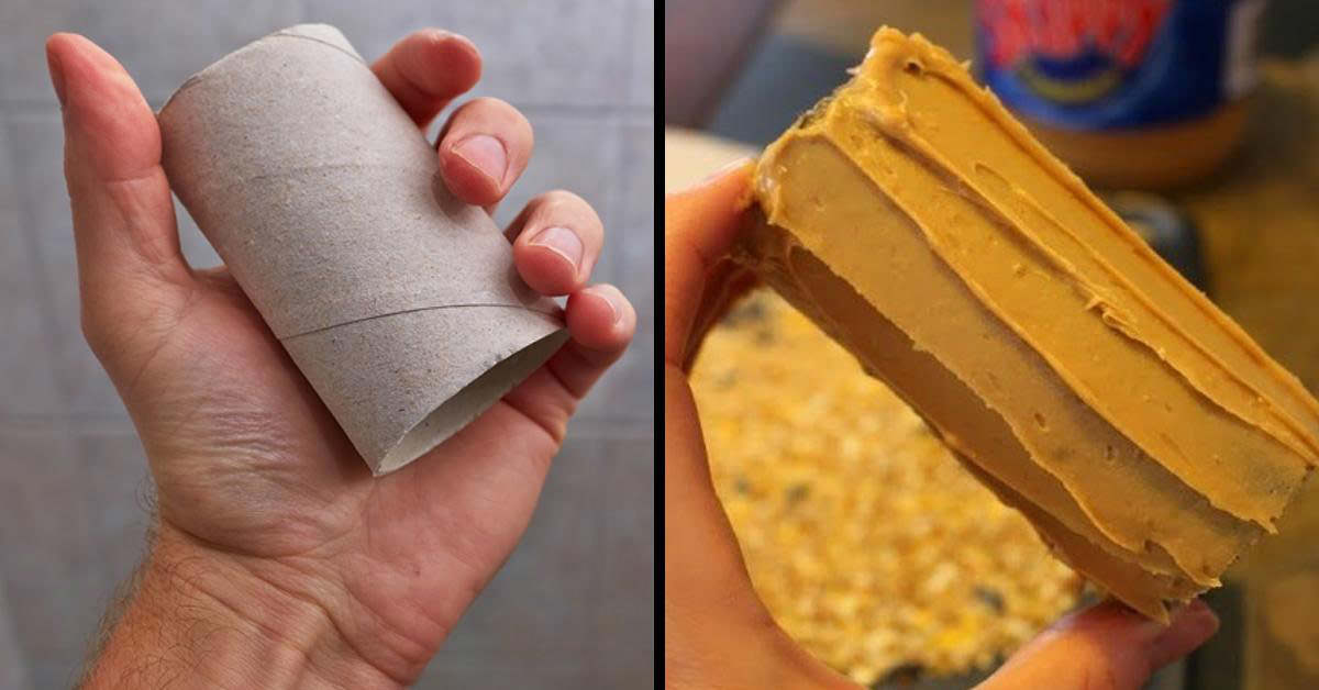trucos con rollos de papel
