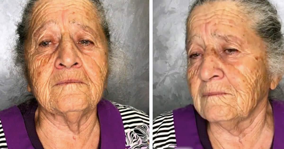 cambio de look de abuelita