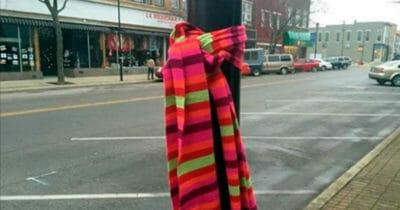bufanda amarrada