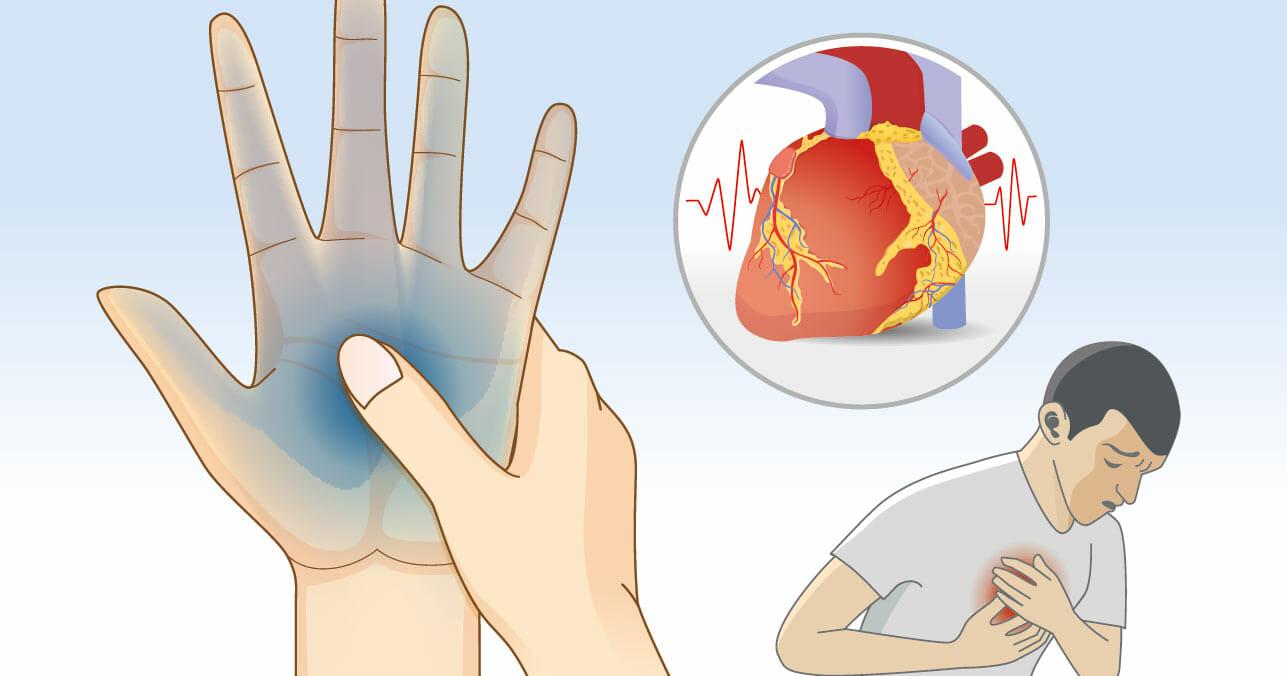 Tu cuerpo avisa 1 mes antes de un ataque al corazón – pistas ocultas ...