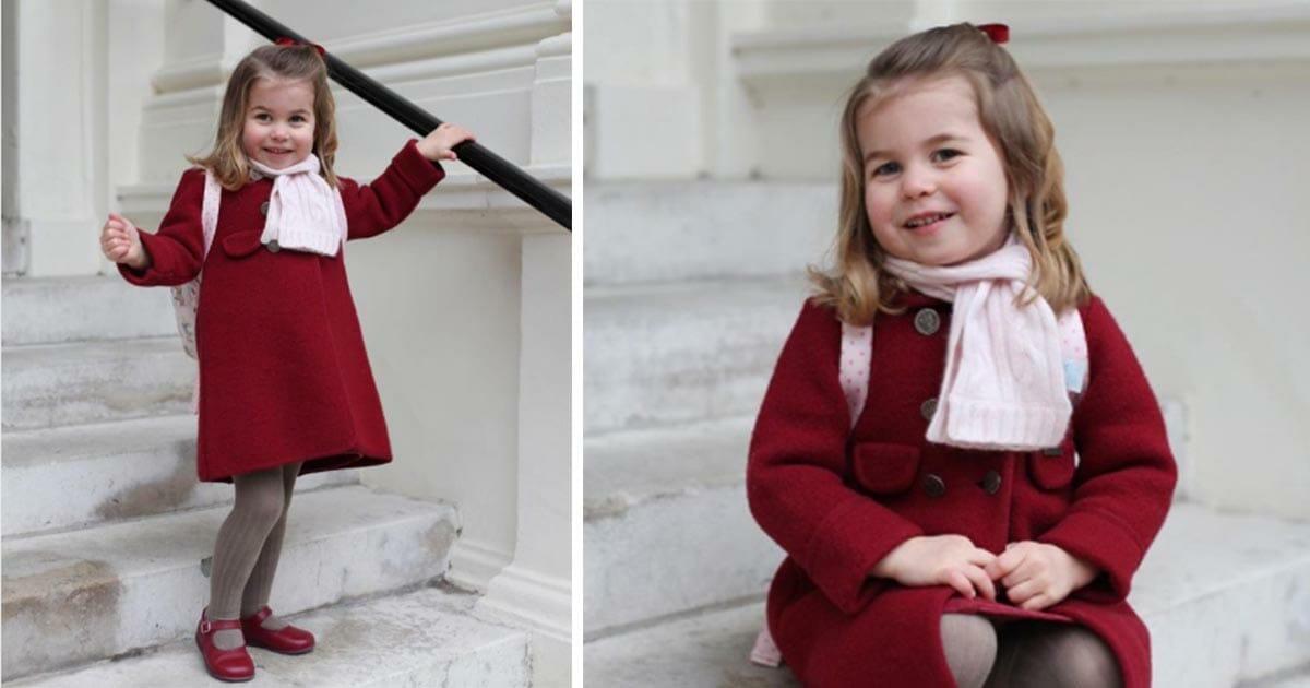 La princesa Charlotte