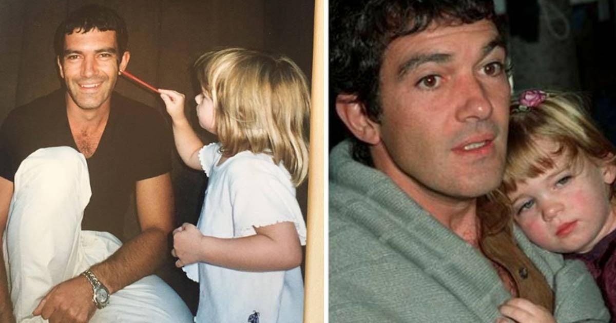 La hija de Antonio Banderas ya ha crecido
