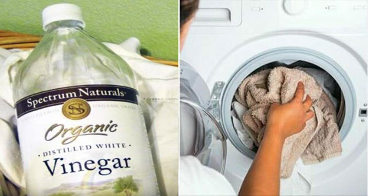 vinagre, lavar ropa