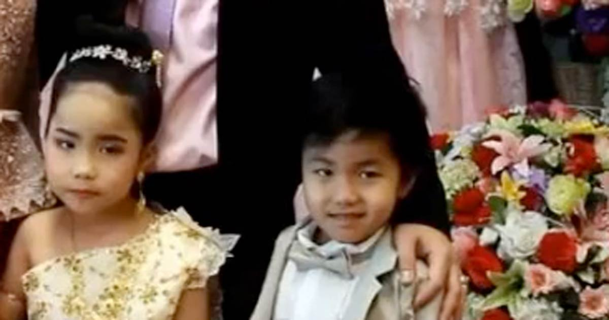 boda, gemelos, Tailandia