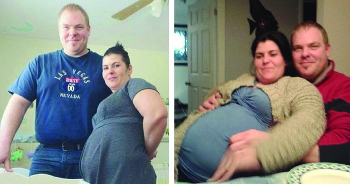 Barbara Bienvenue fejkade sin graviditet för sin sambo.