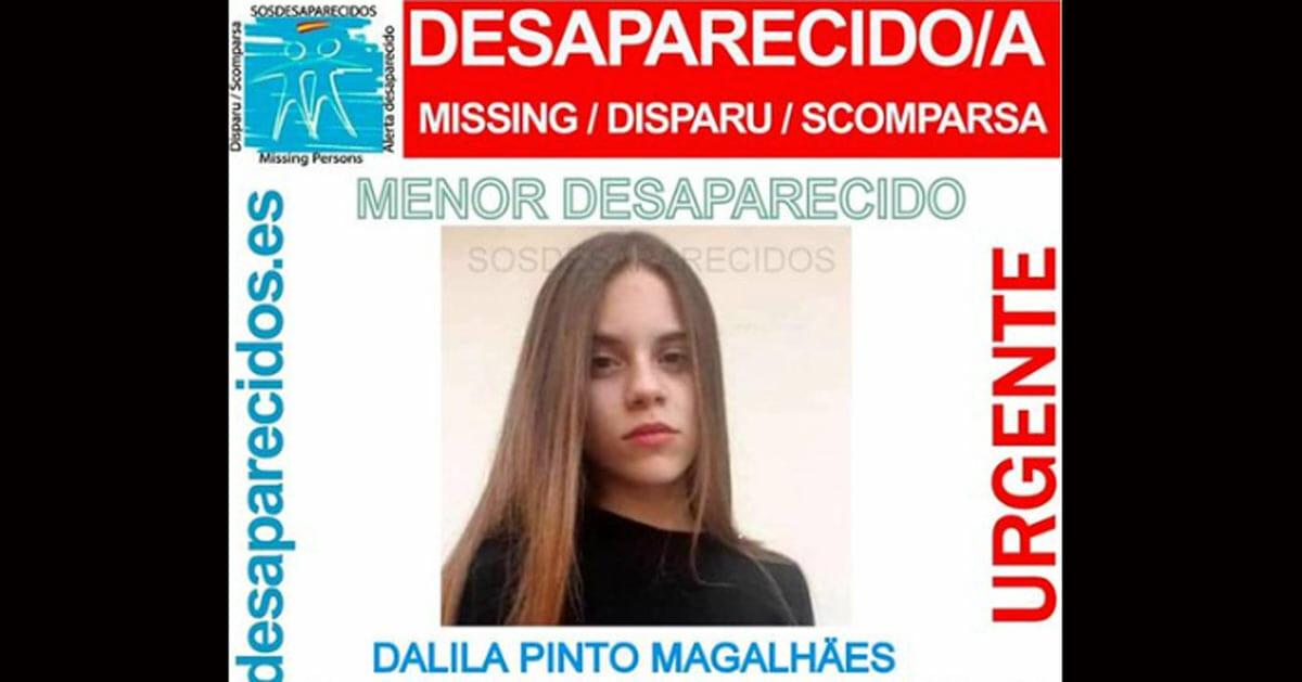 dalila, desaparecida