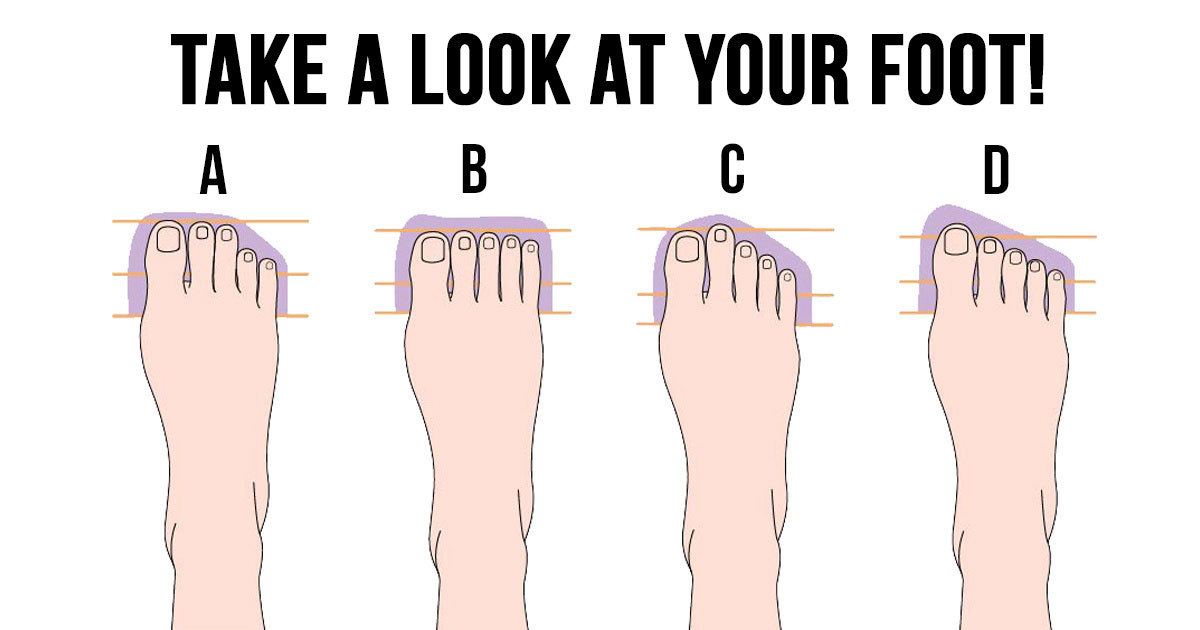 what does the shape of your feet tell you about your personality