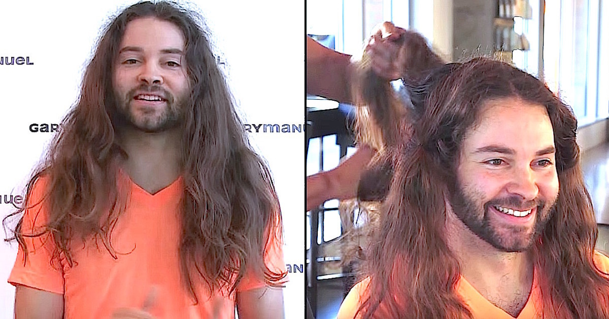 Jon Let His Hair Grow For Three Years To Donate His Locks To