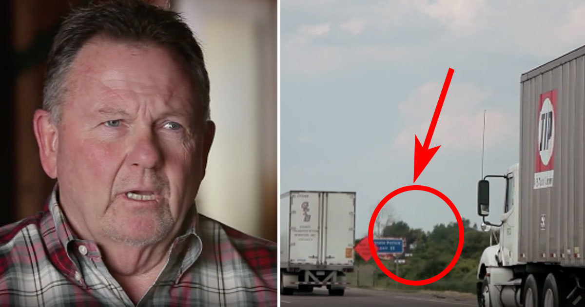Truck Driver Glances At Girl In A Parked Car Then Realizes Awful Truth And Frantically Dials 911 He immediately pulled out his. truck driver glances at girl in a
