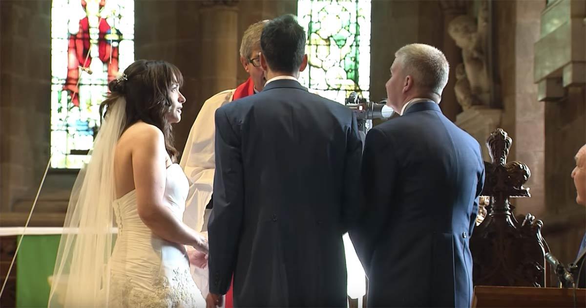 stuart, vicky, bröllop, överraskning