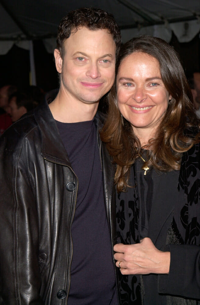 LOS ANGELES - APR 17: Image & Photo (Free Trial) | Bigstock |Moira Harris And Gary Sinise Children