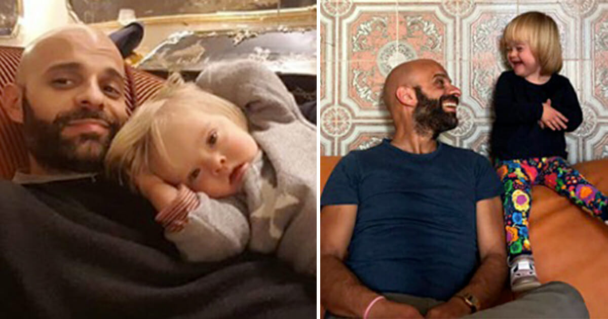 Single dad adopts girl with Down syndrome rejected by 20