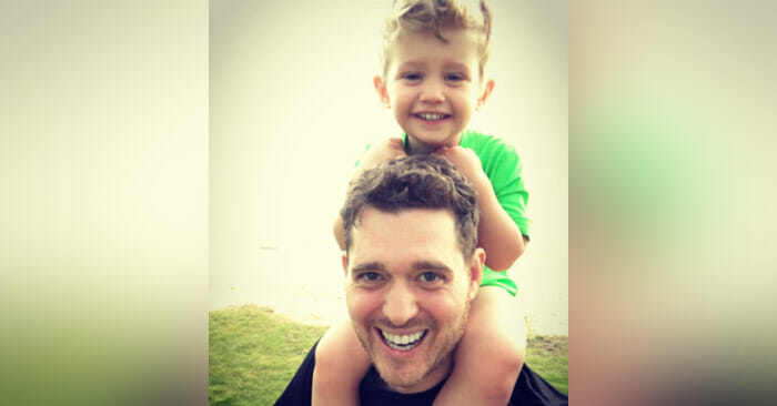 Michael Bublé thanks Jesus Christ after his son's cancer remisssion
