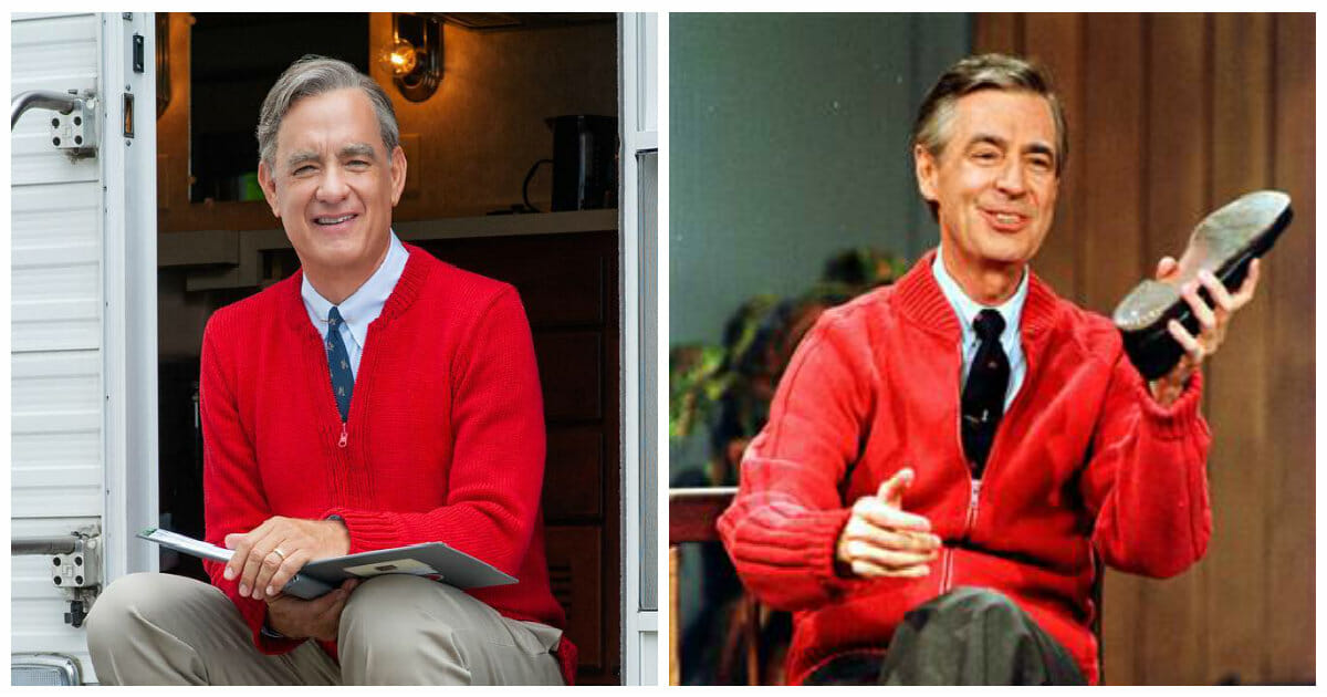 Tom Hanks Finds Out He S Related To Mr Rogers After Playing Him In A Film