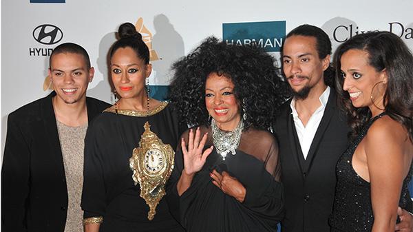 Diana Ross family
