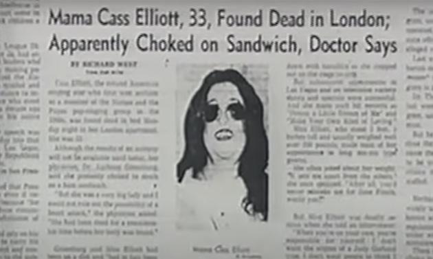 Mama Cass newspaper