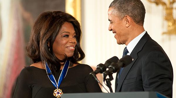 Oprah Winfrey Barack Obama