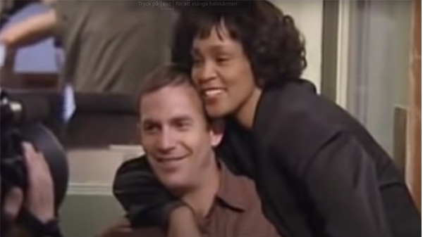 Kevin Costner Whitney Houston