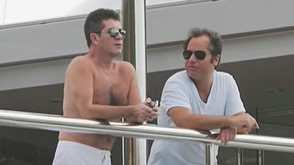 Simon Cowell and Andrew Silverman
