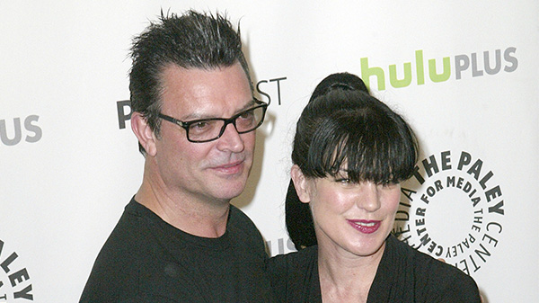 Pauley Perrette and fiancé