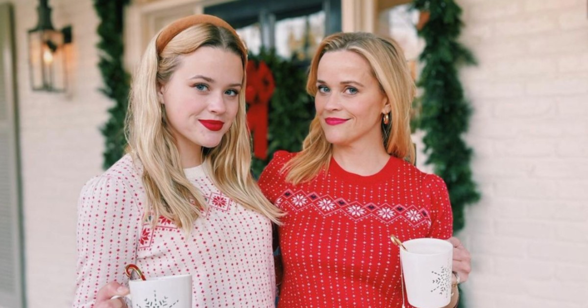 Once Again, Reese Witherspoon and Her Daughter Look Like