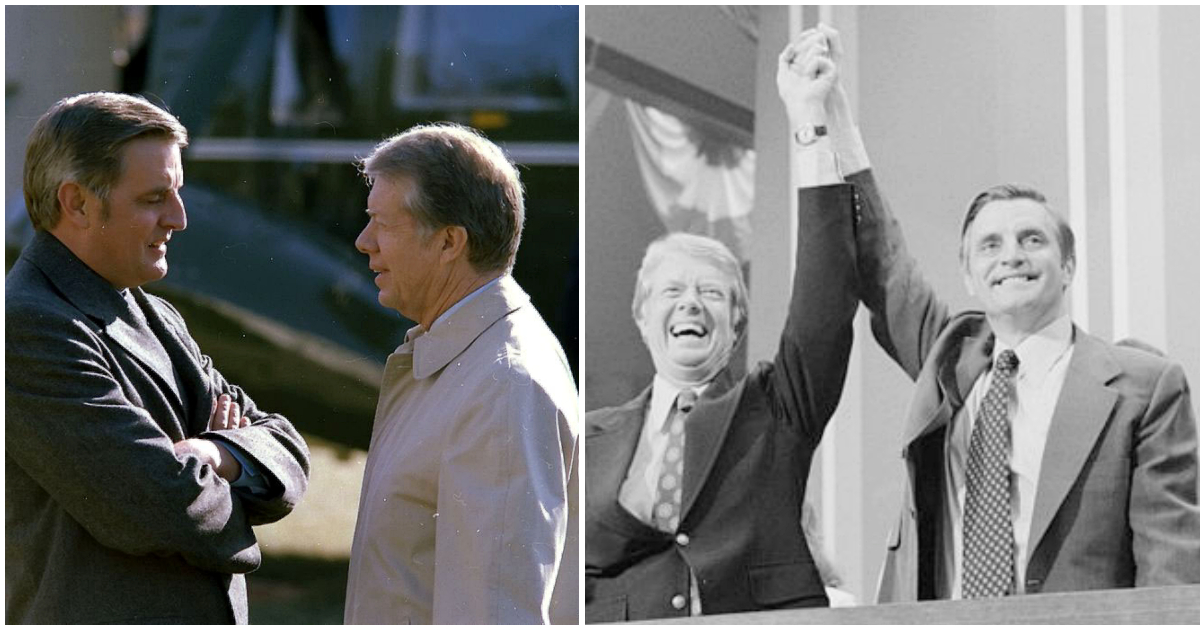 Jimmy Carter pays tribute to his former VP Walter Mondale ...