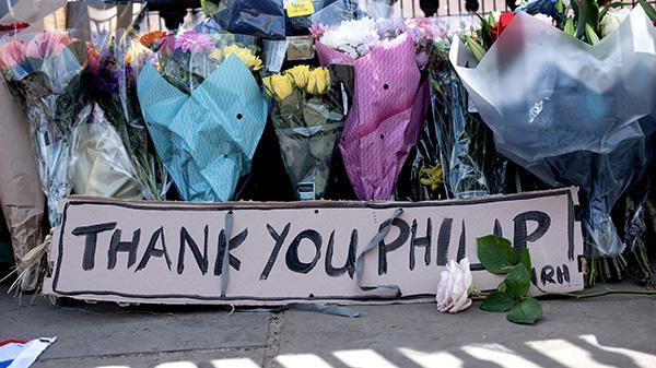 Prince Philip flowers