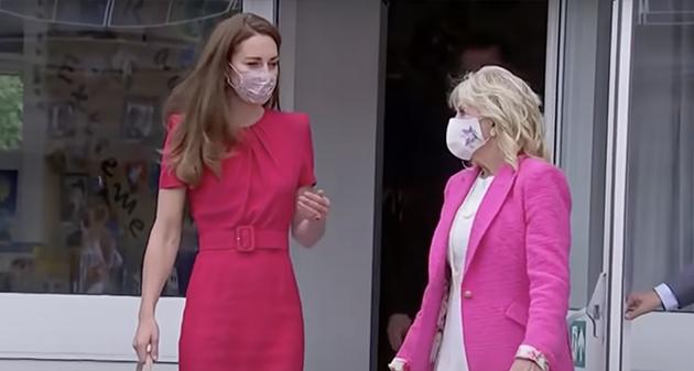 Kate Middleton Jill Biden