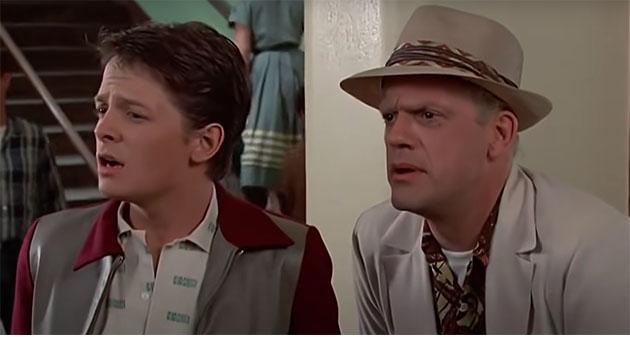 Christopher Lloyd Michael J Fox