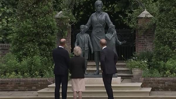 Harry William Diana statue