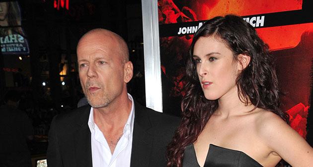 Rumer Willis Bruce Willis