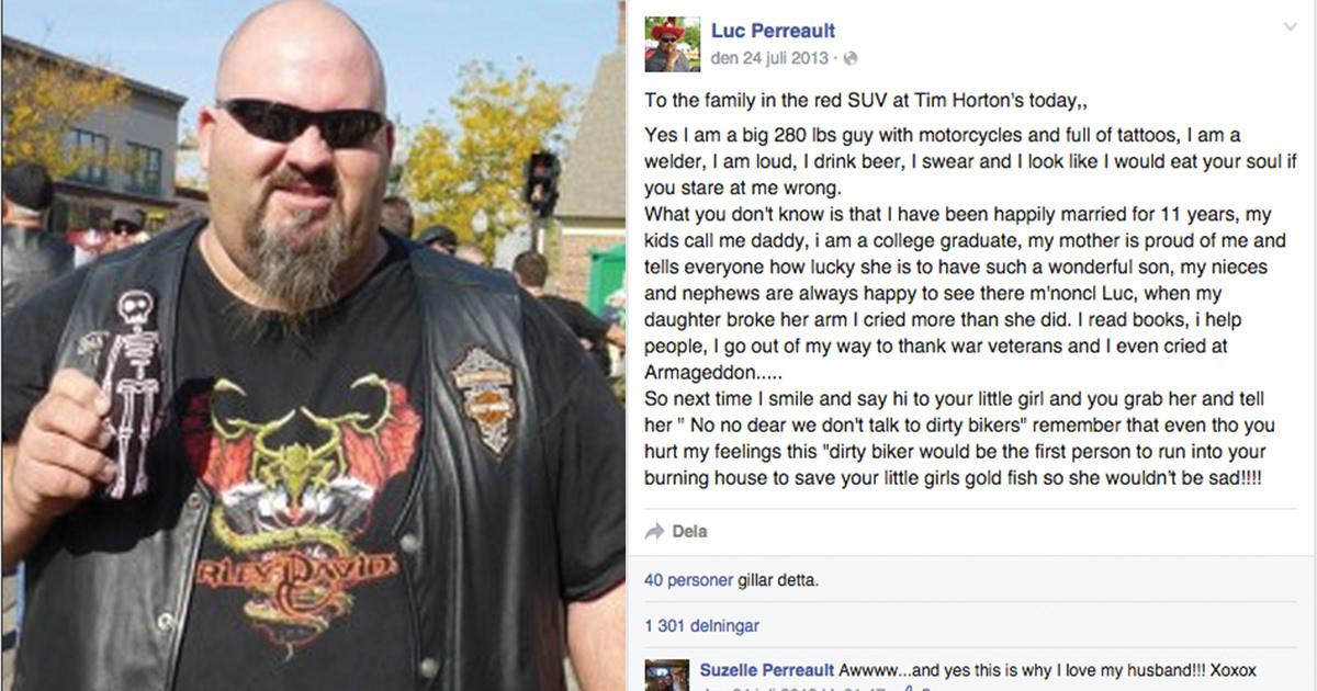 Flickan kallade honom pappa