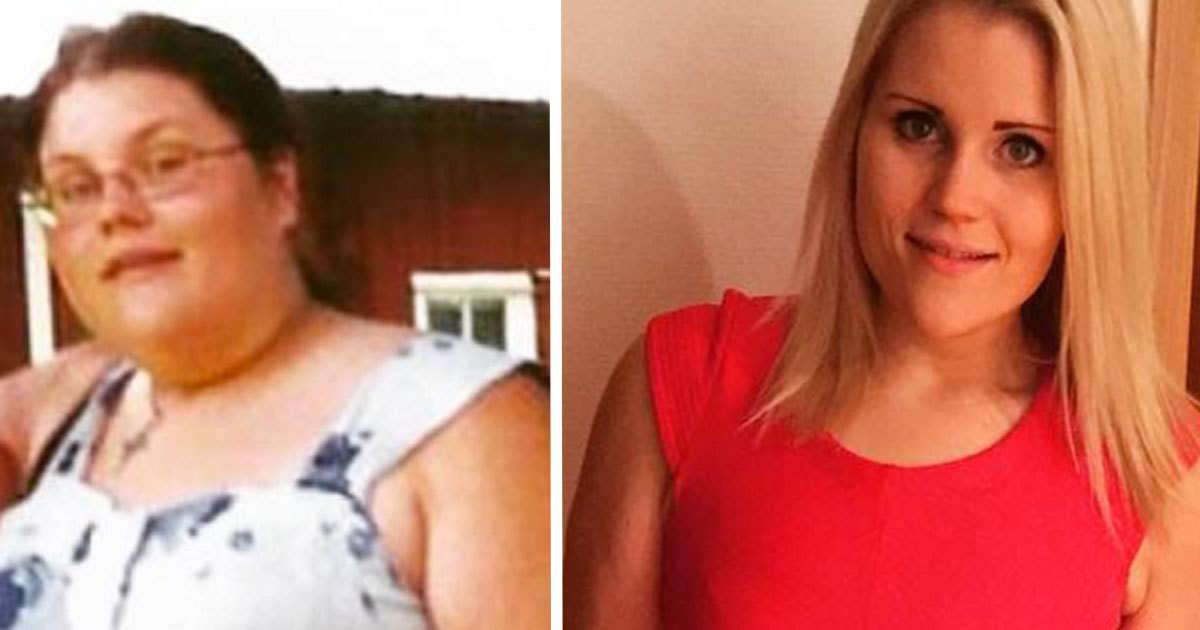 Otroliga forvandlingen gick ner hela 40 kilo