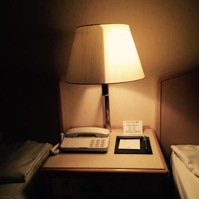 Dubbelsidig lampa