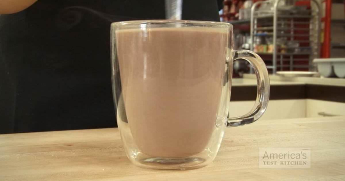 göra varm choklad