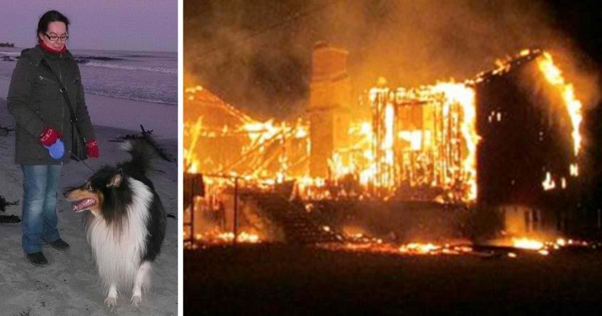 Familj raddad av brandlarm