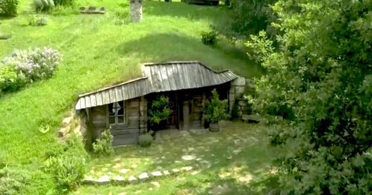 hus under jord