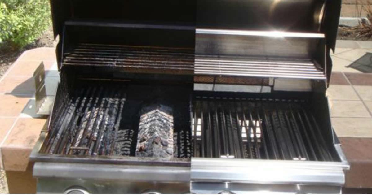 göra rent grillgaller