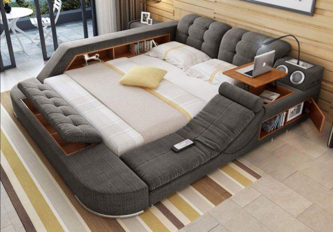 Multifunktionell säng