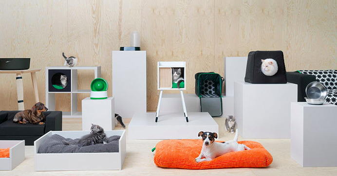 Ikea djurkollektion Lurvig