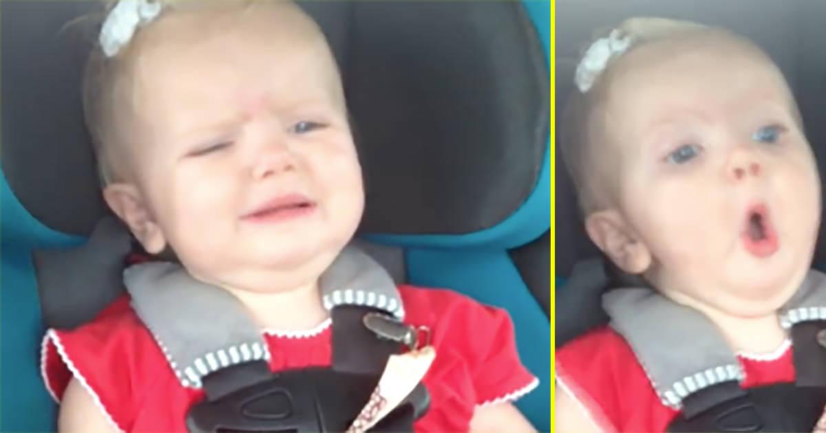 bebis i bil