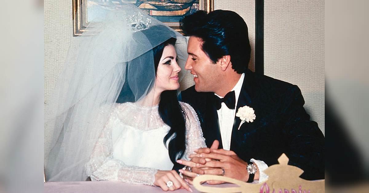 Elvis och Priscilla Presley 1967.