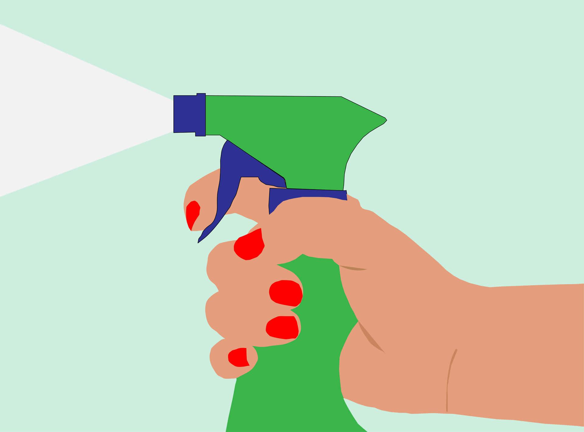 Spray-flaska