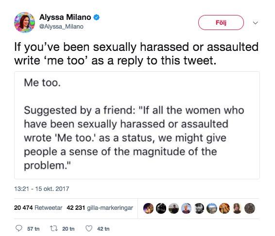 Alyssa Milano Tweet