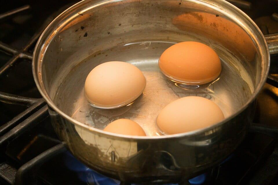 energi i ägg