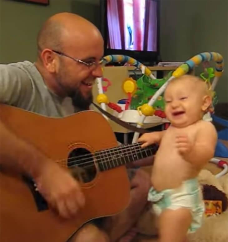 Bebis älskar Bon Jovi