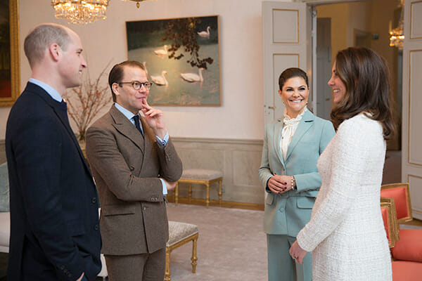 prins daniel, kronprinsessan victoria, william, kate, hertigparet