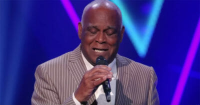 rené bishop, the voice senior, unchained melody, audition